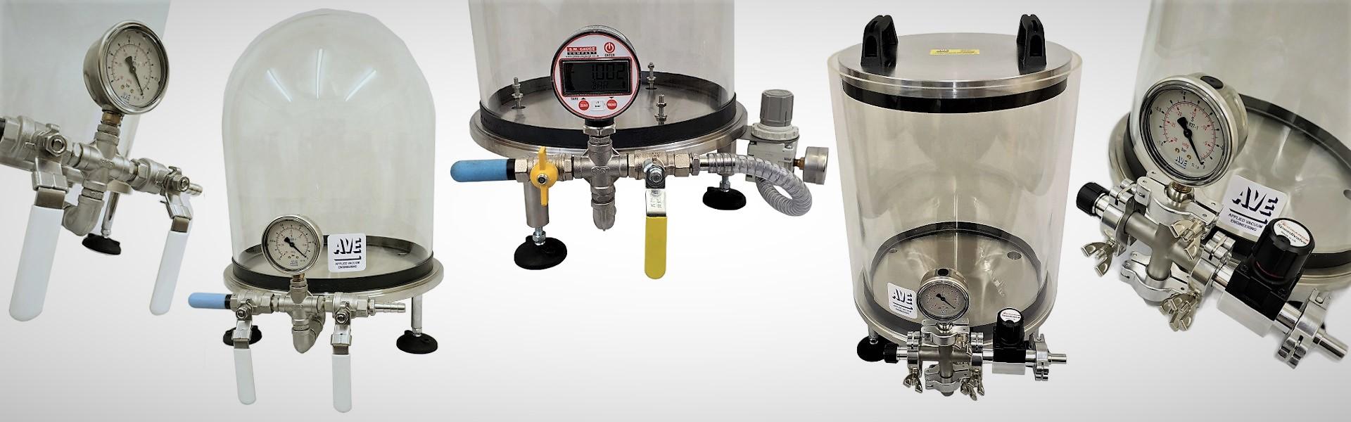 vacuum bell jar systems